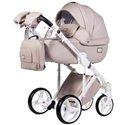 Детская коляска 2 в 1 Adamex Luciano Deluxe 11S Эко-Кожа