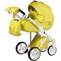 Детская коляска 2 в 1 Adamex Luciano Deluxe Q-108 Эко-Кожа
