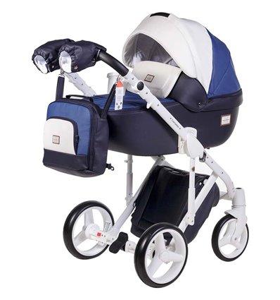 Дитяча коляска 2 в 1 Adamex Luciano Deluxe Q-263 Еко-Шкіра