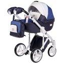 Детская коляска 2 в 1 Adamex Luciano Deluxe Q-263 Эко-Кожа