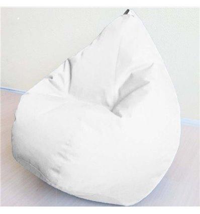 Кресло груша Оксфорд Белый 120-90 см Tia-sport
