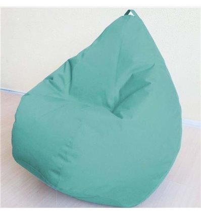 Кресло груша Оксфорд Бирюза 120-90 см Tia-sport