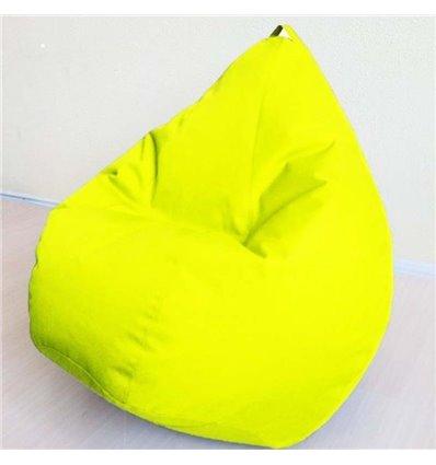 Кресло груша Оксфорд Желтый 120-90 см Tia-sport