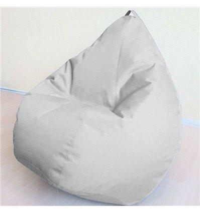 Кресло груша Оксфорд Серый 120-90 см Tia-sport