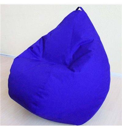 Кресло груша Оксфорд Синий 140-90 см Tia-sport