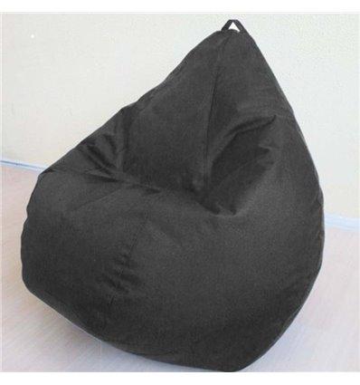 Крісло груша Оксфорд Чорний 120-90 см Tia-sport