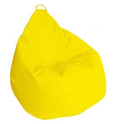 Крісло груша Практик Жовтий 120-90 см Tia-sport