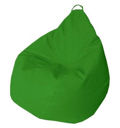 Крісло груша Практик Зелений 120-90 см Tia-sport