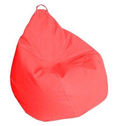 Крісло груша Практик Червоний 120-90 см Tia-sport