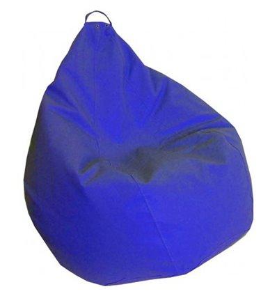 Кресло груша Практик Синий 120-90 см Tia-sport