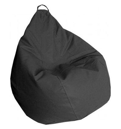 Кресло груша Практик Темно-серый 140-90 см Tia-sport