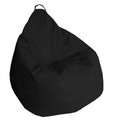 Кресло груша Практик Черный 120-90 см Tia-sport