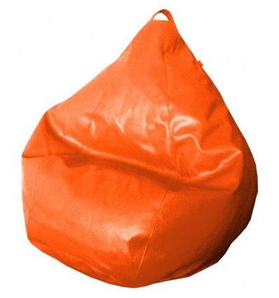 Крісло груша Фреш Оранжевий 90-60 см Tia-sport