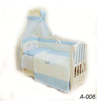 Детская постель Twins Evolution А-006 Ангелочки 7 предметов