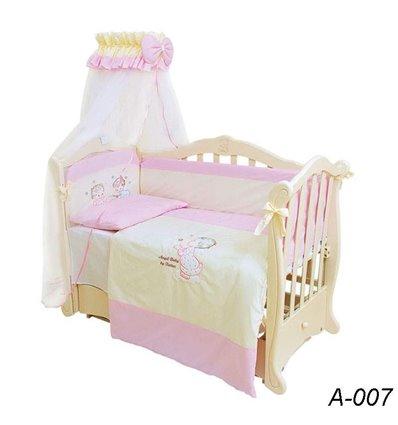 Детская постель Twins Evolution А-007 Ангелочки 7 предметов