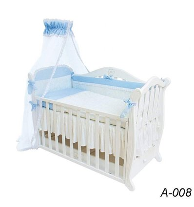 Детская постель Twins Evolution А-008 Снежная королева 7 предметов