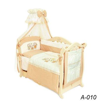 Детская постель Twins Evolution А-010 Семья медвежат 8 предметов