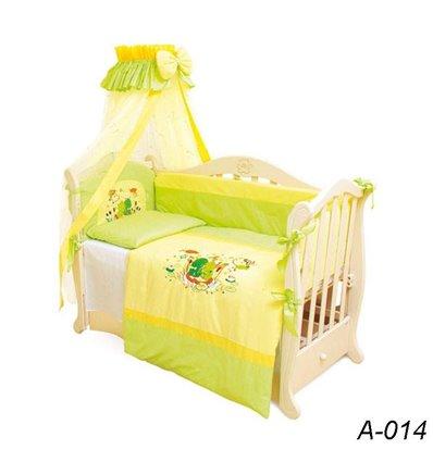 Детская постель Twins Evolution А-014 Лягушата 7 предметов