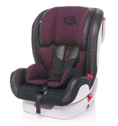 Автокресло детское 4Baby Fly-Fix Пурпурное, 9-36 кг