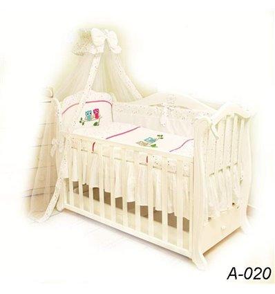 Детская постель Twins Evolution А-020 Сова 7 предметов