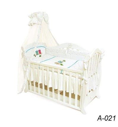 Детская постель Twins Evolution А-021 Сова 7 предметов