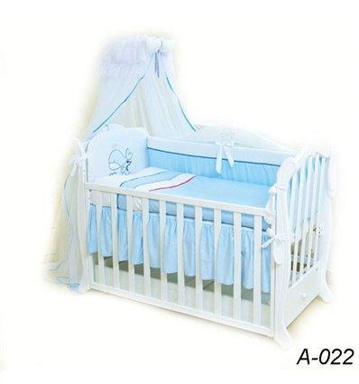 Детская постель Twins Evolution А-022 Морская 7 предметов