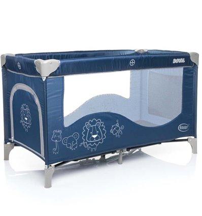 Манеж кровать 4Baby Royal синий