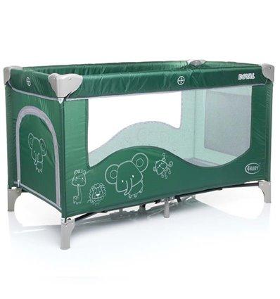 Манеж кровать 4Baby Royal зеленый