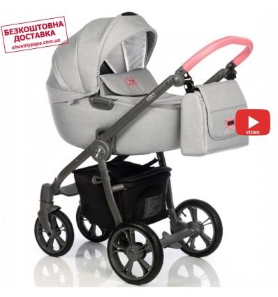 Дитяча коляска 2 в 1 Roan Esso Flamingo