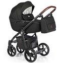 Дитяча коляска 2 в 1 Roan Esso Total Black