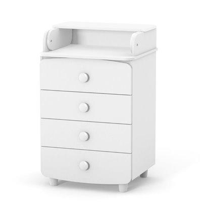 Комод-пеленатор Верес слим 600 мм 26.06, Цвет - белый