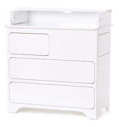 Комод-пеленатор Верес з боковою шухлядою Тач-Лач 24.4.06 білий