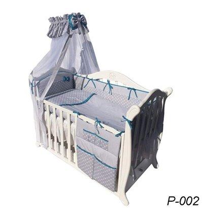 Детская постель Twins Premium P-002 Glamur 8 предметов