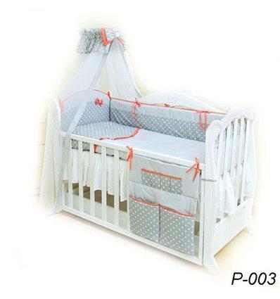 Детская постель Twins Premium P-003 Glamur 8 предметов