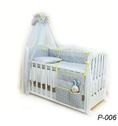 Детская постель Twins Premium P-006 Glamur 8 предметов