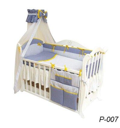 Детская постель Twins Premium P-007 Glamur 8 предметов