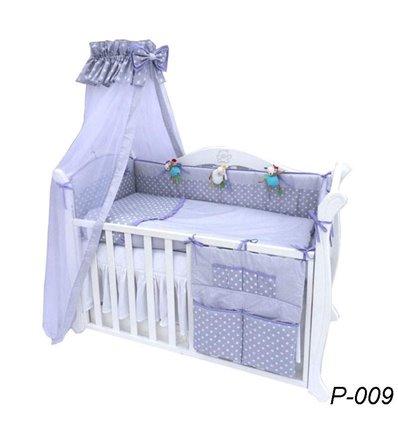 Детская постель Twins Premium P-009 Glamur 8 предметов