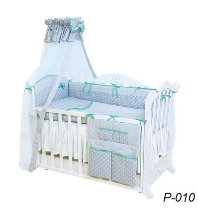 Детская постель Twins Premium P-010 Glamur 8 предметов