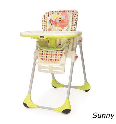 Стульчик для кормления Chicco Polly 2 в 1 Sunny 79065.78