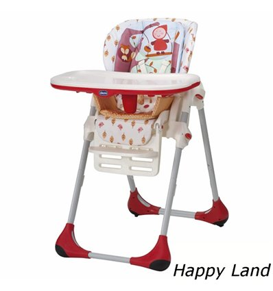 Стільчик для годування Chicco Polly 2 в 1 Happy Land 79065.26