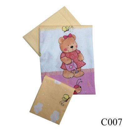 Сменная постель Twins Comfort C-007 Садовники розовый 3 элемента