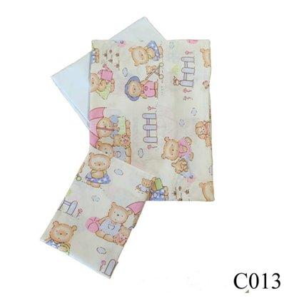 Сменная постель Twins Comfort C-013 Пухнастые мишки розовый 3 элемента