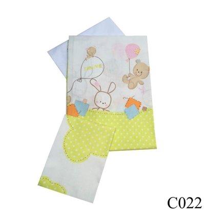 Сменная постель Twins Comfort C-022 Горошки зеленый 3 элемента