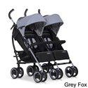 Прогулочная коляска для двойни Easy Go Duo Comfort Grey Fox