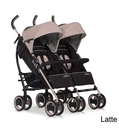 Прогулочная коляска для двойни Easy Go Duo Comfort Latte