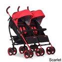 Прогулочная коляска для двойни Easy Go Duo Comfort Scarlet