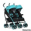 Прогулочная коляска для двойни Easy Go Duo Comfort Malachite