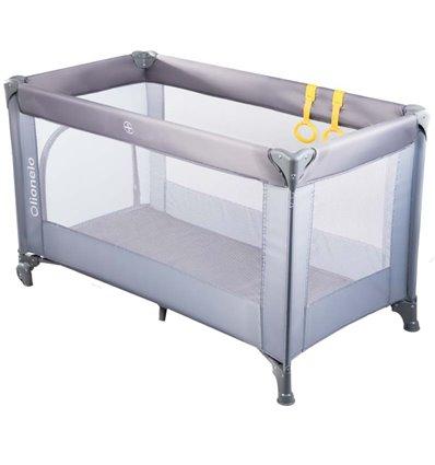 Манеж кровать Lionelo Suzie серый