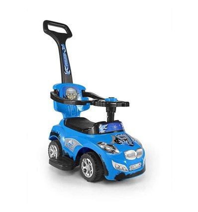 Машинка каталка Milly Mally Happy синяя