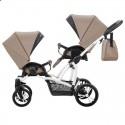 Універсальна коляска для двійні Bebetto 42 New 01